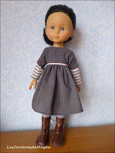 Les coutures de Magda... Une de mes robes préférées, du style, du style, du style...