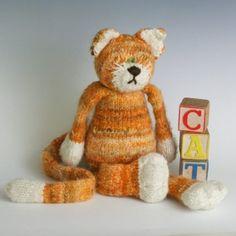 Kit pour tricoter le chat de Yarnmiracle (laine de Spinspanspun)