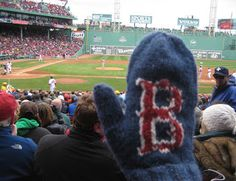 ChemKnits: Convertible Fenway Mitts (Convertible Mittens) Can use lt worsted