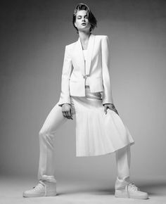 bo don jacques dequeker2 Bo Don Wears All White for Vogue Brazil by Jacques Dequeker