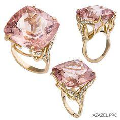 #ring #арт #art #алмаз #morganite #перстень #красота #кольцо #мода #diamond #fashion #woman #бусы #style #jewelry #bijouterie #морганит #женский #gemstone #exclusive #russia #украшения #эксклюзив #бижутерия #ювелир #top #дизайн #modern #бриллиант