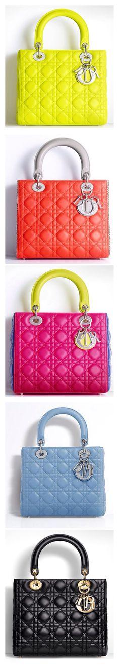 DIOR DESIGN BAG SELECTION #Luxurydotcom::