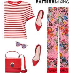 Stay Bold: Pattern Mixing