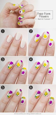 Nail Designs - tutorial, fine negler, nail technician courses, nail technician schools,  https://www.facebook.com/groups/447113892059439/