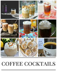 Saturday Sips: Perk Up With These Coffee-Cocktails, Coffee Recipes, Ways to Make Coffee, Coffee Cocktail Recipes, Drink Recipes, Coffee Lover Ideas