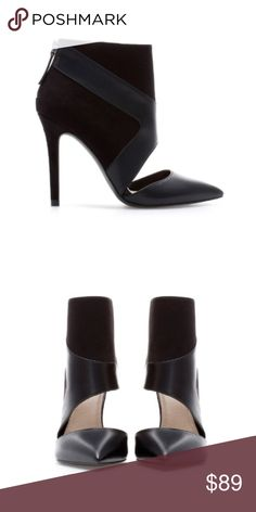 Zara shoes New with tag. EUR 39 US 8 Upper: 50% Polyester 50% Polystyrene Lining: 10% Polyester 90% Polyurethane Zara Shoes