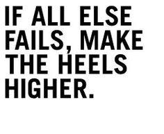 the heels//