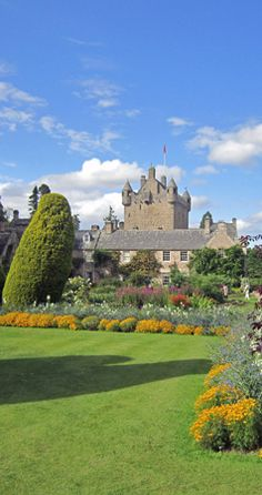 "Cawdor Castle - Forever immortalised in Shakespeare's ""Scottish Play"". The picturesque gardens have been listed as being amongst the top 100 in the UK. The castle contains a superb collection of tapestries, pictures and furnishings and the Dowager Countess of Cawdor still lives there for part of the year."