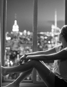 NYC. Looking at Manhattan // by Christine Kase