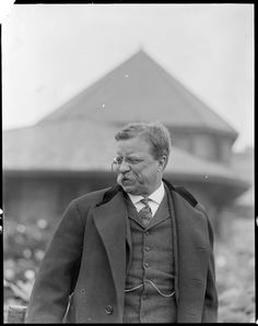 "Theodore Roosevelt, 1904    Boston Public Library, Leslie Jones Collection  Super ""definition of"" badass"