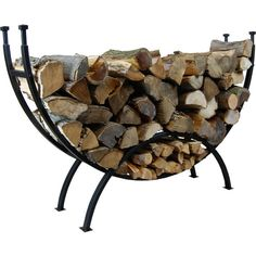 Highland Curved Log Rack #LearnShopEnjoy