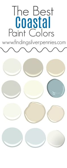 The Best Coastal Paint Colors I Finding Silver Pennies