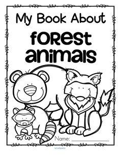 Forest Animals preschool activities