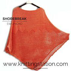 Knitting Pattern Circular Needles, Needles Sizes, Sewing Ideas, Knits, Hemline, Knitting Patterns, Cover Up, Crop Tops, Cotton