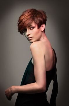 I love red hair, especially short red hair
