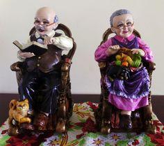 Abuelos en cerámica para decorar tu casa