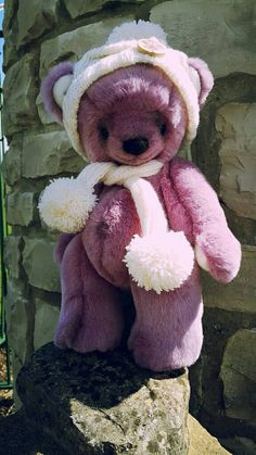 Check out this item in my Etsy shop https://www.etsy.com/uk/listing/450235600/rose-the-ooak-mohair-plush-teddy-bear