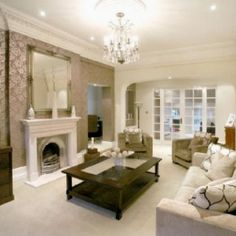 Lounge inspiration | House | Pinterest | Laura ashley and House