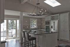 Lakeside Cottage Kitchen
