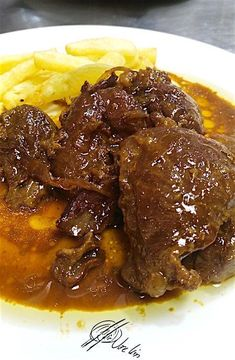 Easy Dinner Recipes, Easy Meals, Meat Recipes, Cooking Recipes, Guisado, Spanish Dishes, Malaysian Food, Slow Food, Food To Make