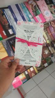 Undangan Imaji Undangan Pernikahan Simple Dan Elegan Warna Pink