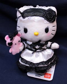 Japan Sanrio Hello Kitty Plush Phone Strap Cosplay Party Maidservant | eBay