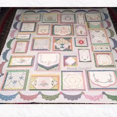The Vintage Linens Quilt Top might get quilted! Rhonda Dort 2019 The Vintage Linens Quilt Top might get quilted! Rhonda Dort The post The Vintage Linens Quilt Top might get quilted! Rhonda Dort 2019 appeared first on Quilt Decor. Embroidery Designs, Embroidery Transfers, Vintage Embroidery, Vintage Crochet, Quilting Designs, Vintage Sewing, Vintage Linen, Vintage Crafts, Vintage Sheets