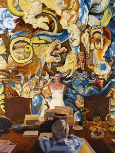 The Schoolboy, Jan Worst Modern Art, Contemporary Art, Head And Heart, Magic Realism, School Boy, American Art, Painting Inspiration, Painters, Surrealism