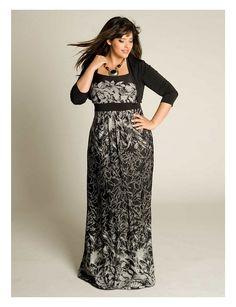 monterey mint medley chevron plus size maxi dress | dresses