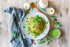 Spaghetti Liguria mit DIY-Pesto
