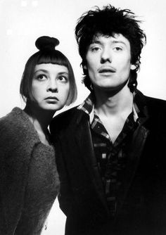 Catherine Ringer et Fred Chichin (Les Rita Mitsouko) Oldies But Goodies, Fred Chichin, Britney Spears, Catherine Ringer, Good Music, My Music, French Pop, Rock Groups, Look Vintage