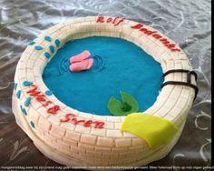 Zwembadtaart juli 2013