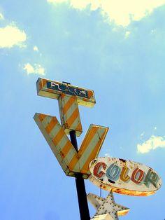 Vintage sign in AZ