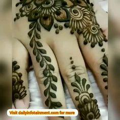 Stunning Look – Henna 2020 Modern Henna Designs, Latest Henna Designs, Floral Henna Designs, Finger Henna Designs, Full Hand Mehndi Designs, Mehndi Designs 2018, Mehndi Designs For Beginners, Mehndi Designs For Girls, Mehndi Design Photos