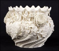 BELLEEK PORCELAIN JARDINAIRE. : Lot 1282097