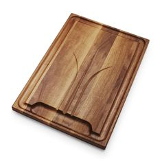 J K Adams Handled Carving Board Maple With Copper