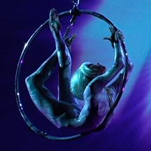 Aerial ring act. Aerial Ballet. www.noveltyent.com