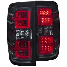 Anzo USA LED Tail Lights are a direct-fit replacement. Street legal DOT compliant to FMVSS LEDs are created using the latest CAD/CAM equipment. Stand up to harsh weather conditions. LEDs light up faster and emit minimal heat Car Chevrolet, Chevrolet Colorado, Chevrolet Suburban, White Light, Light Up, Chrysler 300c, Cad Cam, Chevy Silverado 1500, Led Tail Lights