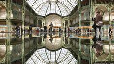"""""""Monumenta"""" by Daniel Buren, Grand Palais"""