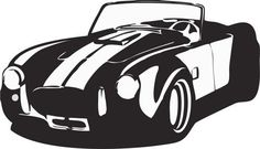 AC Cobra Decal Sticker Wall Art Graphic by PerfectPeacocks on Etsy, $38.00