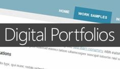 Let your hard work speak for itself by learning to creating your own digital portfolio!