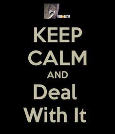 Keep Calm Crona by nothguy on deviantART