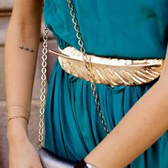 Feather belt