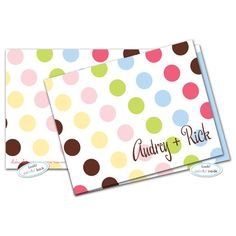 Lizzie Dots Note Card