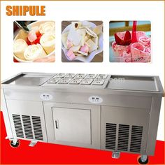 Source Fry Ice Cream Machine Price Ice Cream Rolls Thailand fried cream roll machine for sale on m.alibaba.com