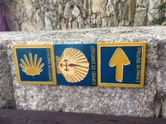 Signs on the Camino