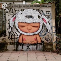 Alex Face @alexfacebkk in Bangkok, Thailand.