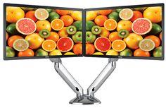 Variabilní stolní držák na 2 monitory  3 380,- CZK