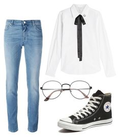 """""""Retro Living"""" by i-understand ❤ liked on Polyvore featuring Marc Jacobs, Givenchy and Converse"""