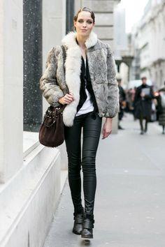 FWP Paris Haute Couture Models off Duty